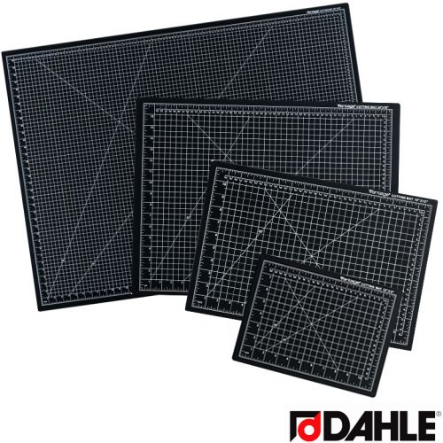 Dahle Vantage Black Self-Healing Professional-Quality 5-Layer Cutting Mats