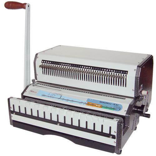 Akiles WireMac E Electric Wire-O® Punching & Binding Machines - Buy101
