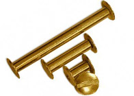 Gold Chicago Screw Posts