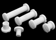 White Chicago Screw Posts
